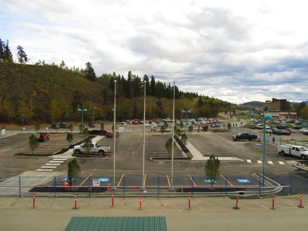 New Public Parking Lot - Sept 2016