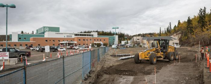 WGH expansion construction